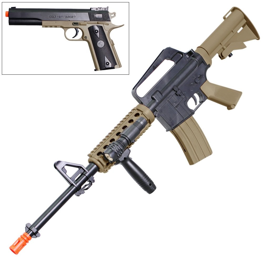Wholesale Bb Gun Now Available At Central Items 1 40 Sig 556 Assault Rifle Model Kit Toys Colt M4 Ris Airsoft And 1911 Pistol Spring 6mm