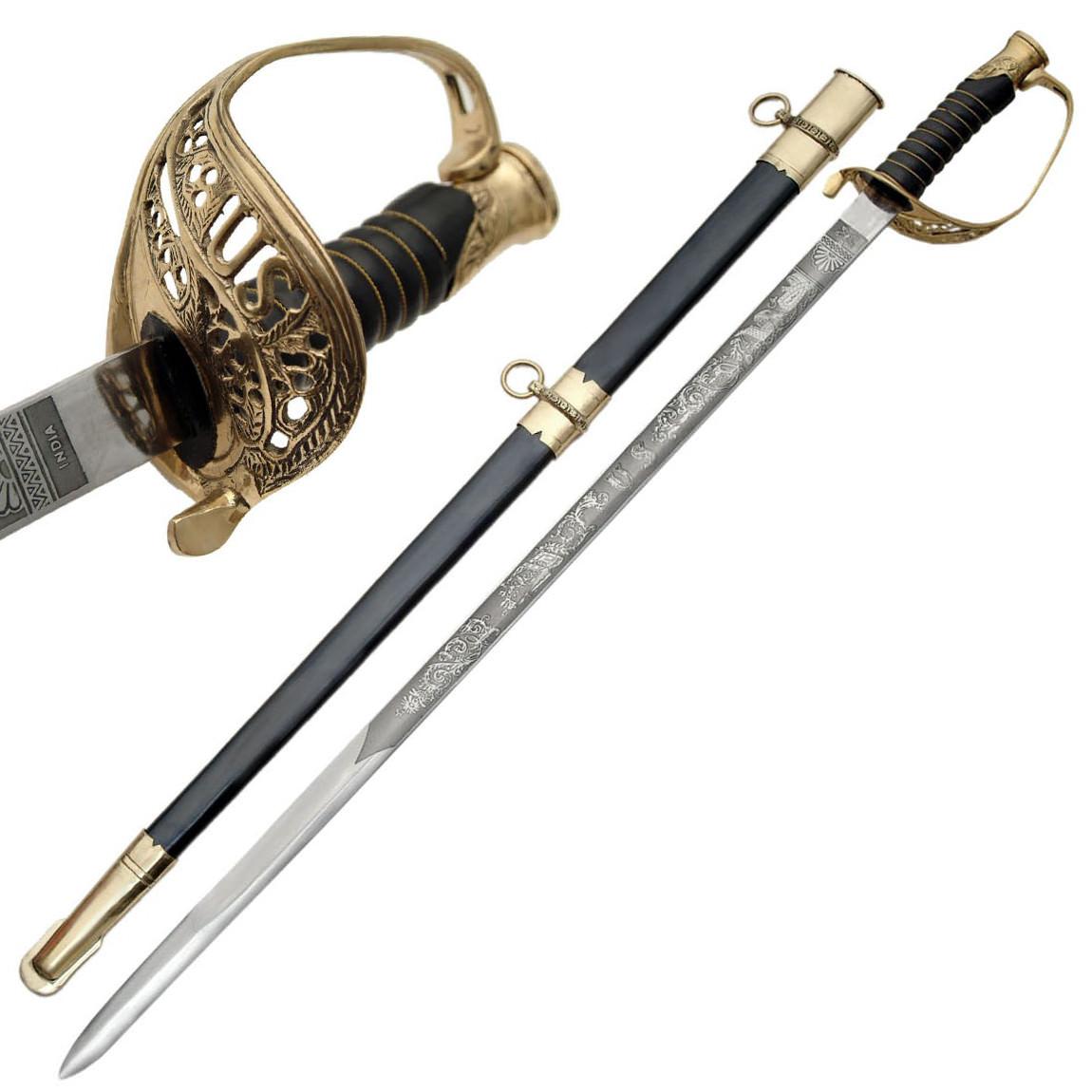 Cavalry Saber U.S. Civil War Foot Officer's Sword  Sabre