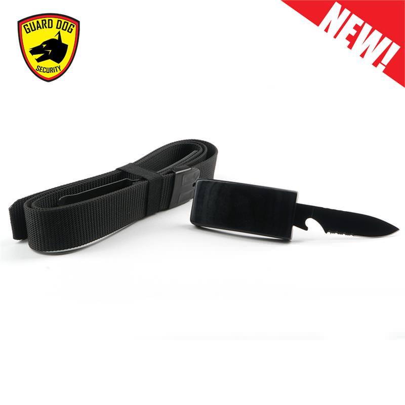 Military Grade Nylon Covert Belt KNIFE Self Defense Hidden Blade