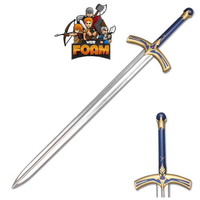 Fate Stay Night Saber Caliburn Fantasy Foam LARP Cosplay COSTUME Sword