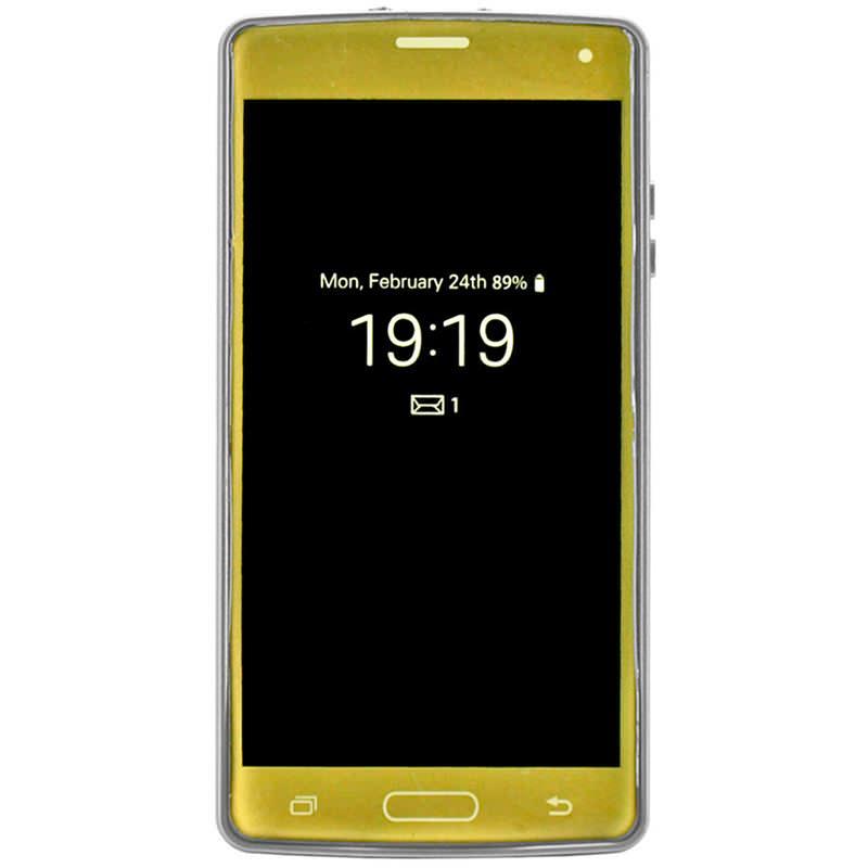 High Voltage Smart CELL PHONE Galaxy Stun Gun Golden