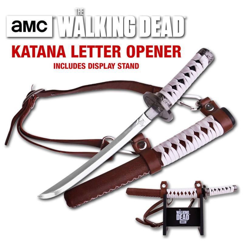 Walking Dead Michonne Katana Letter Opener