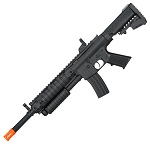 Airsoft Pump Action Tactical Spring Shotgun Rifle With Laser Scope FPS-250