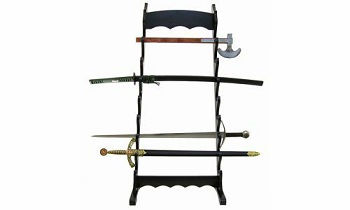 Eight Tier Table Top Sword Stand