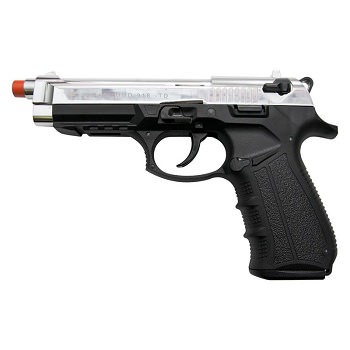 Zoraki Front Firing M918 Chrome Finish 9mm Blank Gun Pistol