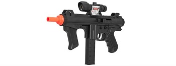 P2123 Spring Airsoft Rifle With Scope and Laser 125 FPS