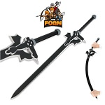 SAO Kiritos Elucidator Anime Foam Sword