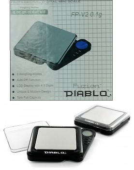 Diablo Version 2 Professional Digital Mini Scale 100G x 0.01G