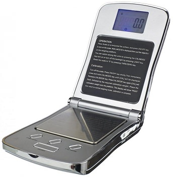 Fuzion Professional Digital Pocket Scale 100g x 0.01g - Silver