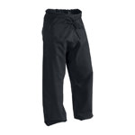12 oz Heavy Weight Cotton Karate Pants Black Size 5