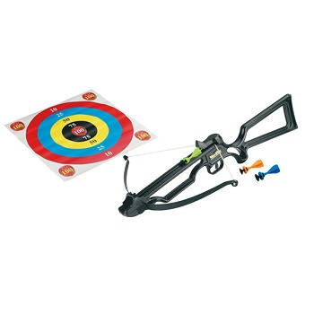 Archery Toy Crossbow with Sucker Darts Black