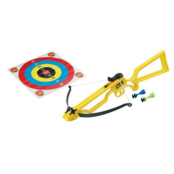 Archery Toy Crossbow with Sucker Darts Yellow