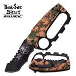 Dark Side Blades 5.25 Inches Desert Kunkle Handle Spring Assisted Knife