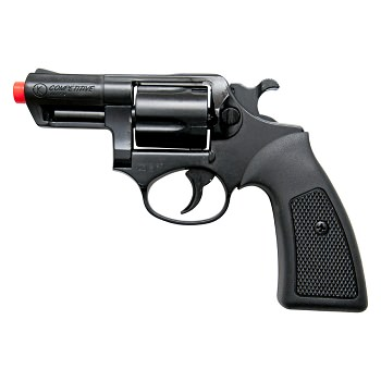 Kimar COMPETITIVE Black Finish 9mm Front Firing Blank Revolver 2