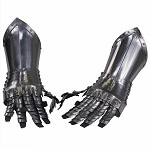 Armored Medieval Articulated Gauntlets