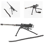 WWII Ma Deuce Miniature Desktop Collectible Replica Machine Gun
