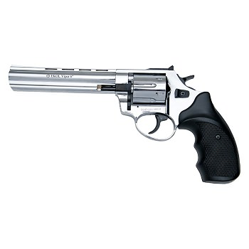 Viper 6 Inch Barrel 9MM Blank Firing Revolver Chrome Finish
