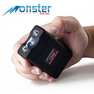 Monster 18 Million Volt Rechargeable Stun Gun - LED Light