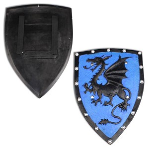 Crusader Medieval Knight Dragon Foam Fantasy Shield LARP