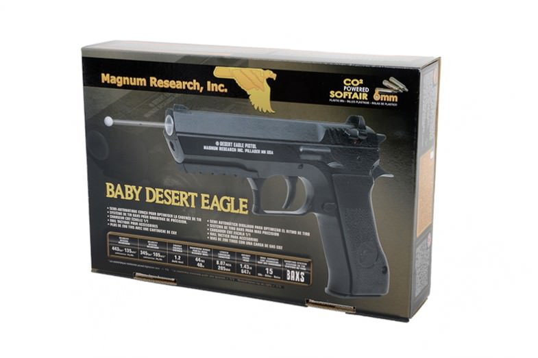 Magnum Research Baby Desert Eagle Jericho 941 Co2 Airsoft Gun 493 Fps