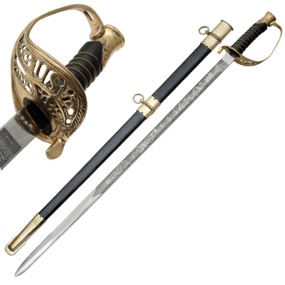 Model 1850 U S  Foot Officer's Sword Discount Knives and Swords military