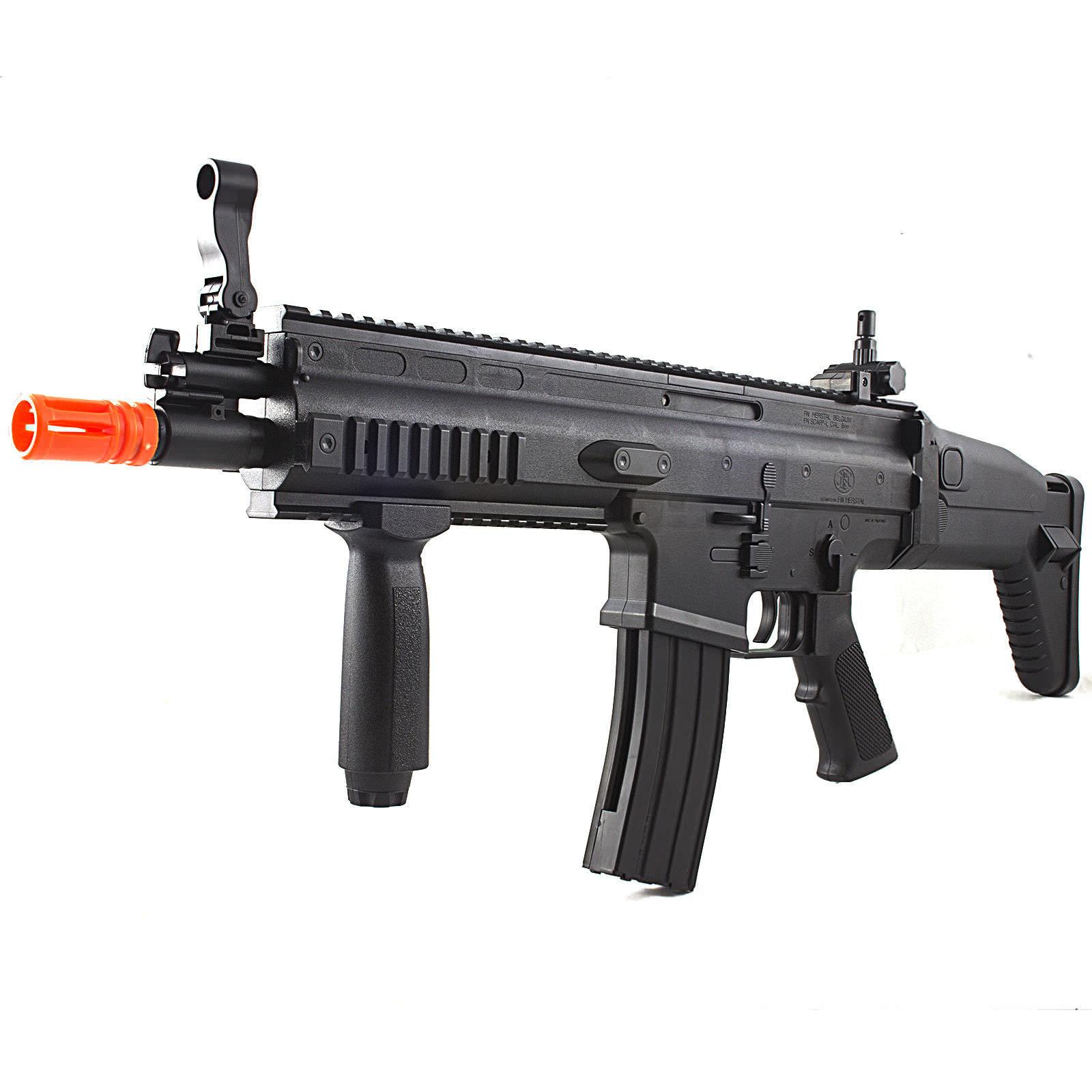Fn Herstal Scar L Mk16 Tacitcal Spring Airsoft Rifle Gun Fps 400 Air Soft