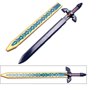 Zelda Twilight Princess Link's Master Wooden Sword With Scabbard