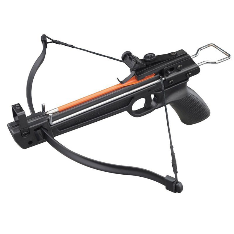50 lbs Metal Aluminium Pistol Crossbow with 5 ABS Bolts