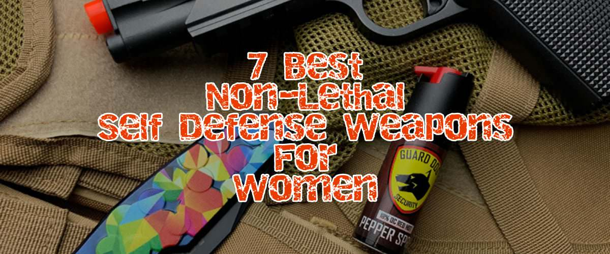 self defense weapons for women