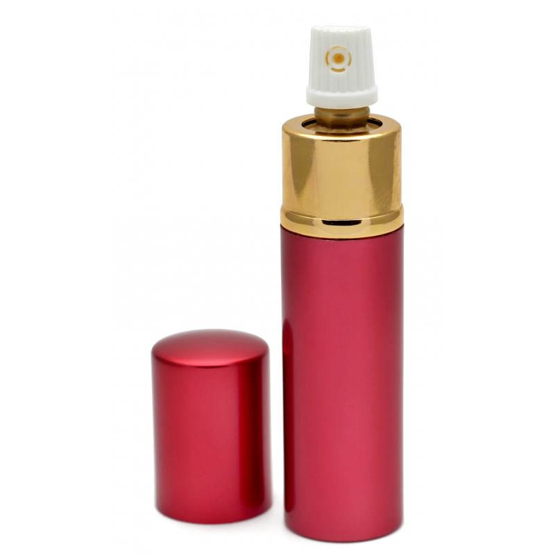 Red Lipstick Pepper Spray Women Discreet Self Defense Personal Security