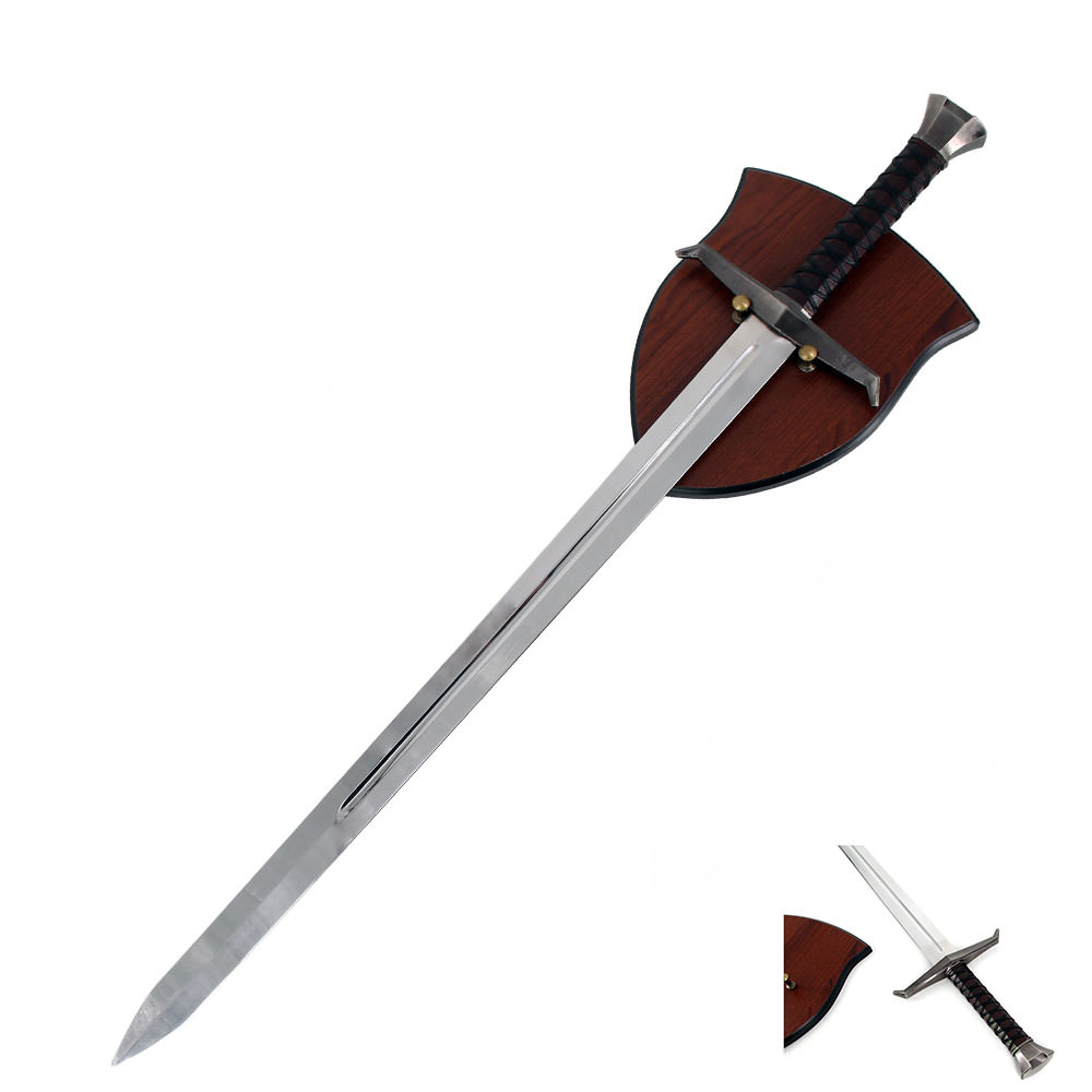 King Arthur Excalibur Legendary Sword With Display Wall Plaque