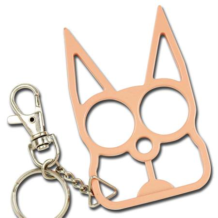 Cat Self Defense Knuckle Key Chain
