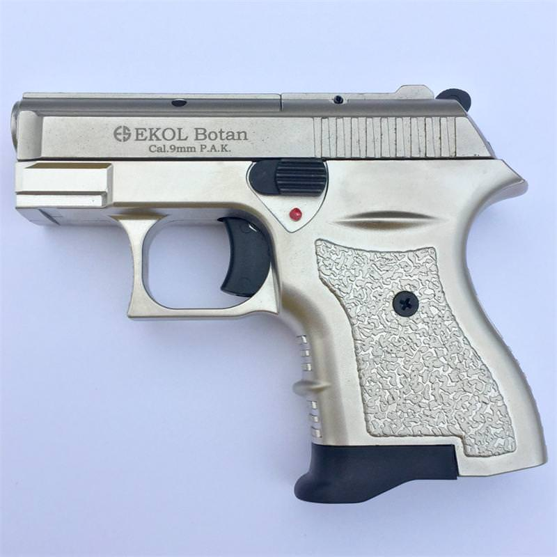 Botan 9MM Blank Firing All Satin Finish Starter Pistol