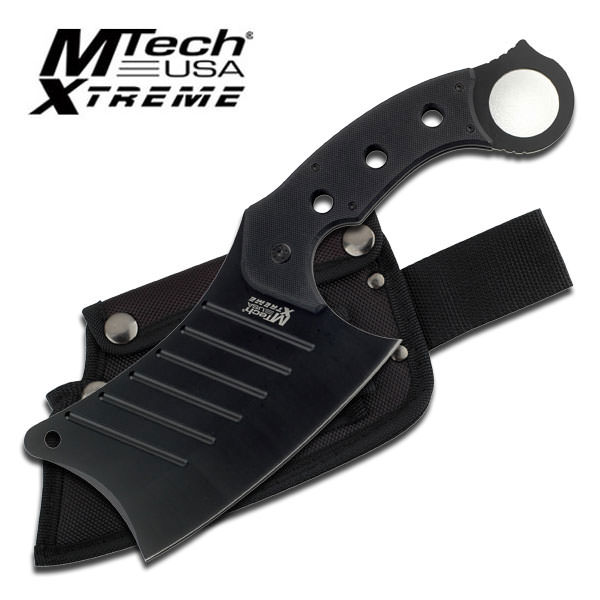 Mtech Extreme 12 Quot Fixed Blade Chopping Knife Stainless