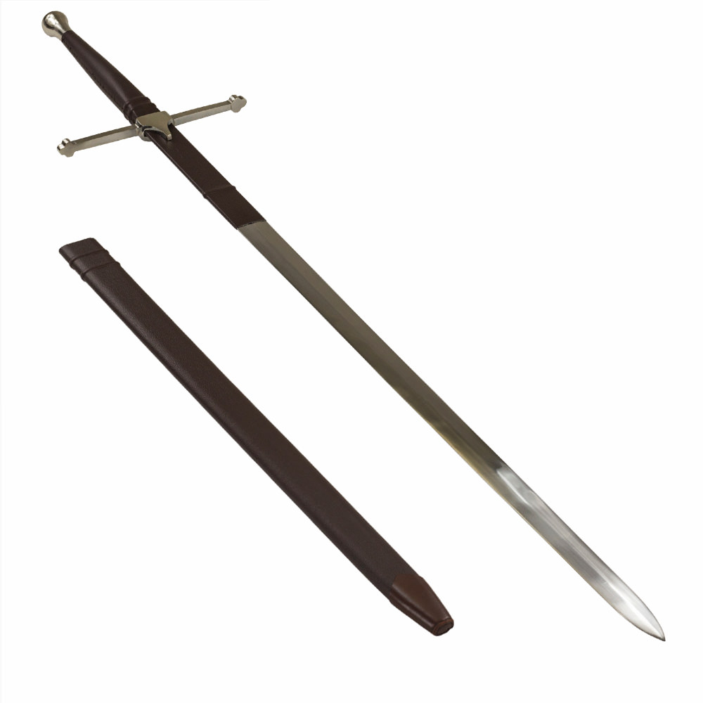 Brave Heart William Wallace Two-Handed Sword With Scabbard
