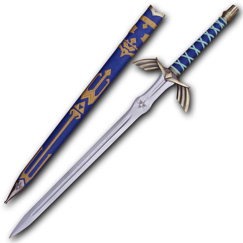 NEW BARBARIAN WARRIOR CHILDRENS SWORD GOLD SWORD WITH SILVER HANDLE WEAPON PROP