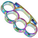 Iron Fist Knuckleduster Heavy Duty Rainbow Buckle & Paperweight