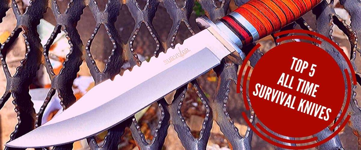 5 best survival knives