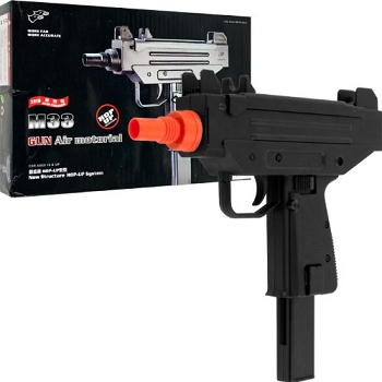 M33 Model Hop Up Mini Uzi Airsoft Gun