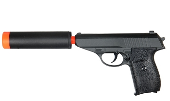 All NEW G3A Full Metal Airsoft Handgun bbs Pistol With Silencer