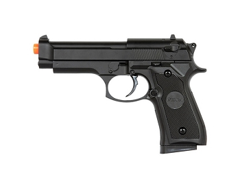 P818 M9 Beretta Full Metal Body Spring Airsoft Pistol Handgun