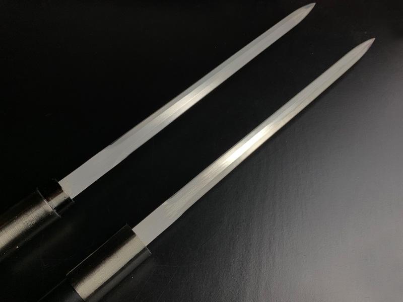 types of swords - ninja swords