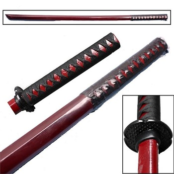 Kenjutsu Training Swordsmanship Martial Arts Practice Bokken Sword Red