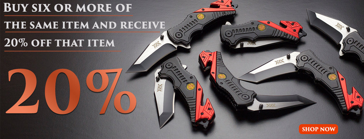 Wholesale Knives Discounts