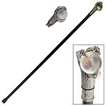 Dragon's Claw with Orb Walking Cane