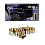 50 Rounds 9mm P.A.K. Blanks Brass Case, For Full & Semi-Auto Pistols