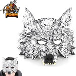 Wolf Head Mask for Costume Cosplay Halloween Masquerade
