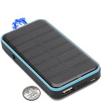 3 In 1 Solar Rechargeable Stun Gun, Flashlight & Power Bank