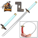 Grimmjow Jeagerjaques Anime Foam Sword Zanpakuto Cosplay Roleplay Costume