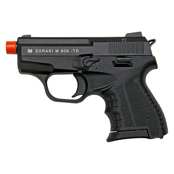 Zoraki M906 Black Finish - 9MM Front Firing Blank Pistol Semi-Auto Gun
